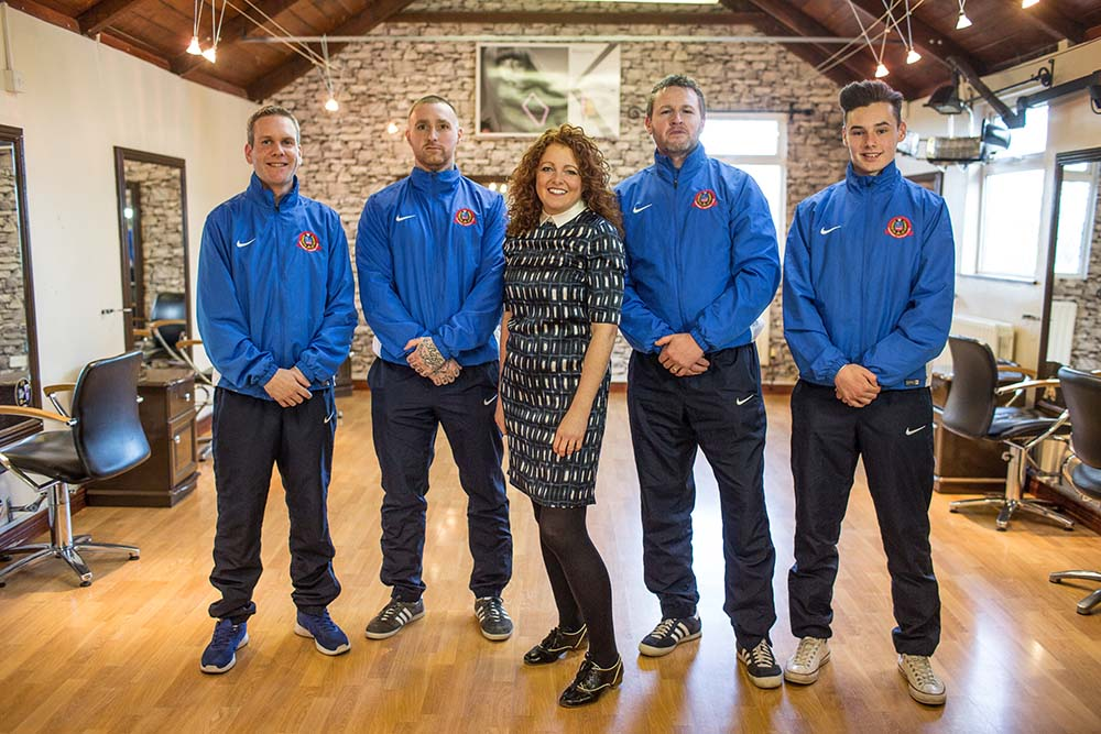 Ollar Sponsor local football team